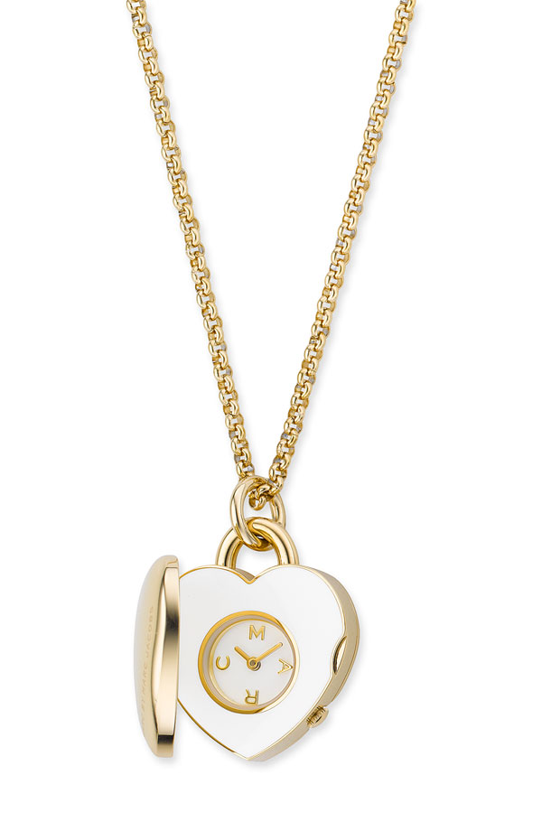 Item of the week marc by marc jacobs heart locket watch pendant item of the week marc by marc jacobs heart locket watch pendant aloadofball Images