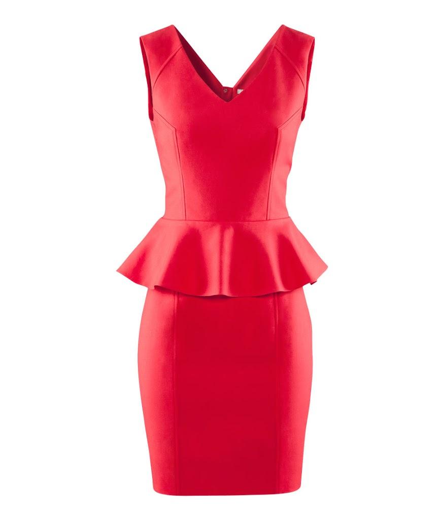 HM Peplum Dress