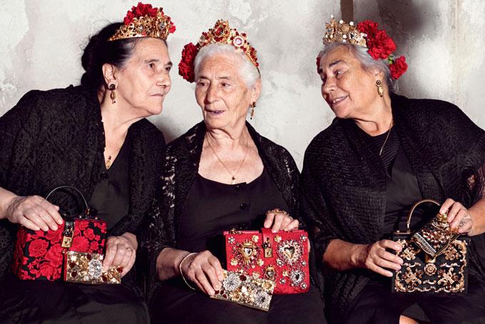 Dolce & Gabbana Spring 2015 campaign