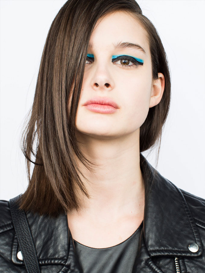 Mackage Fall 2015 makeup by Grace Lee