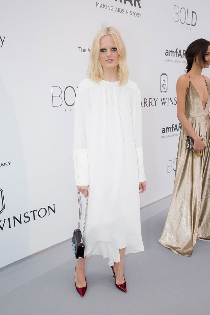 Hanne Gaby Odiele in Dior, Cannes 2015