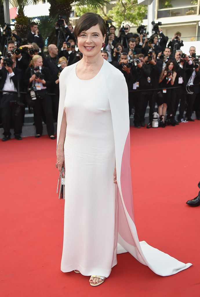 Isabella Rosselini in Stella McCartney, Cannes 2015