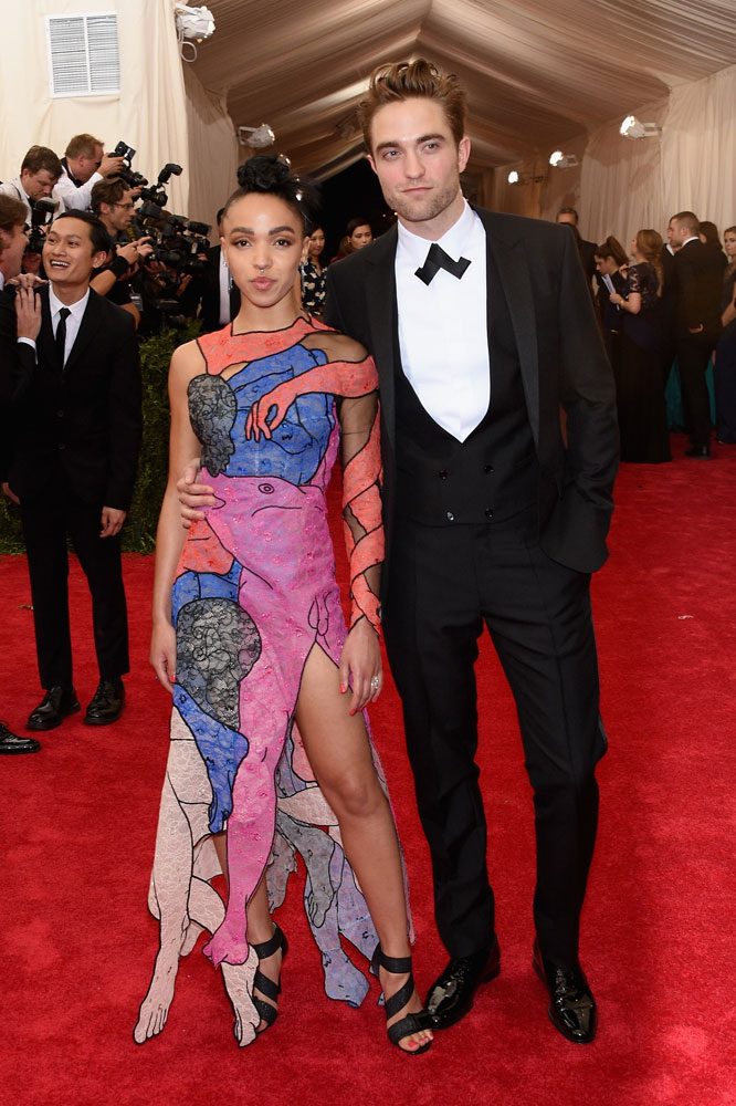 MET Gala FKA twigs in Christopher Kane