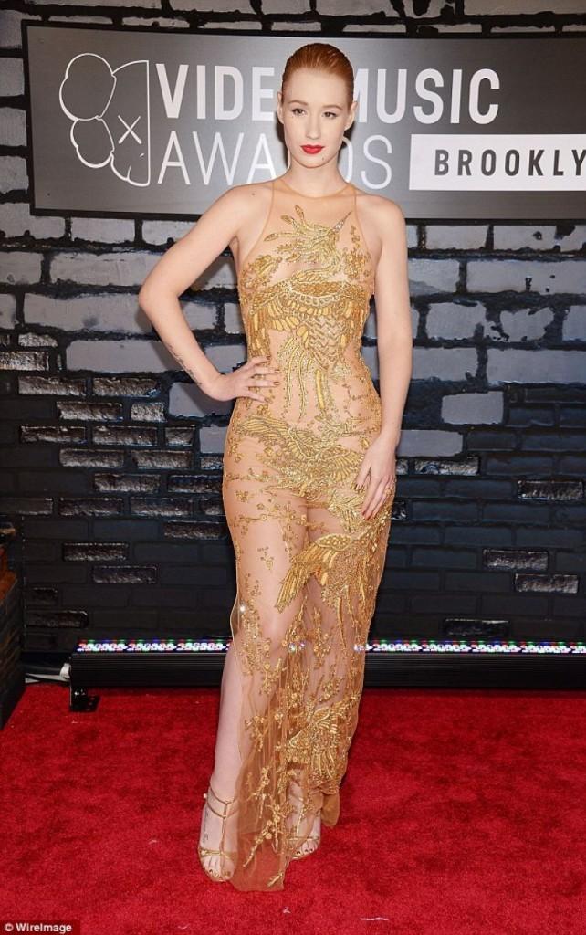 Iggy Azalea in Versace