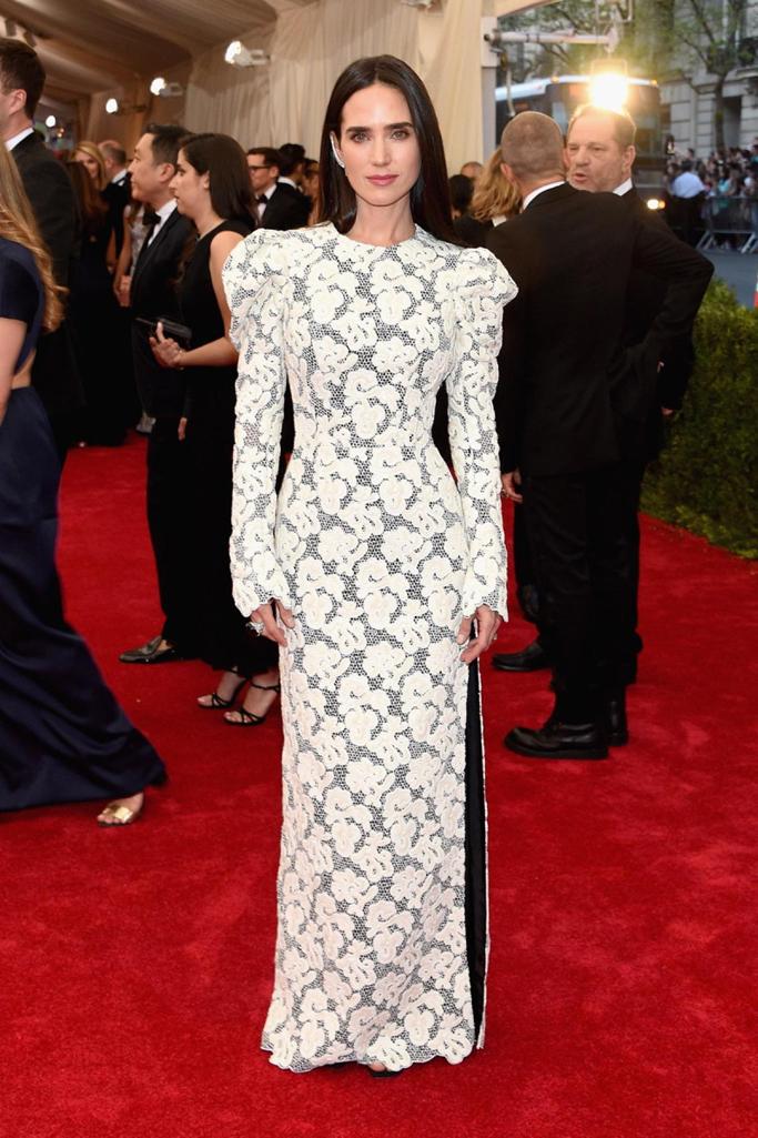 MET Gala Jennifer Connelly in Louis Vuitton