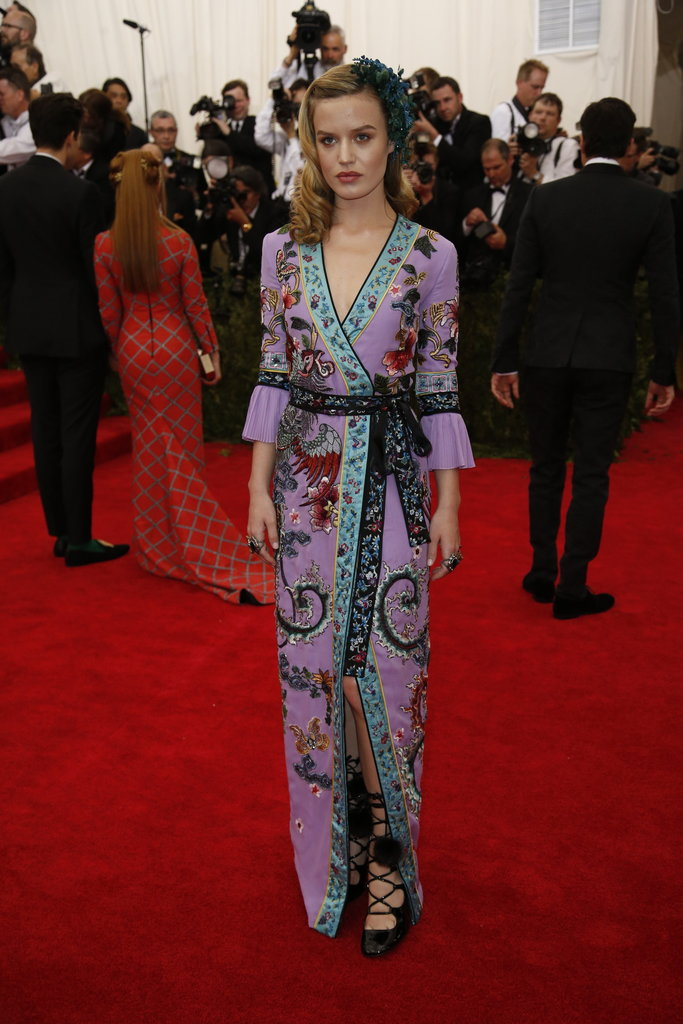 MET GALA Georgia May Jagger in Gucci