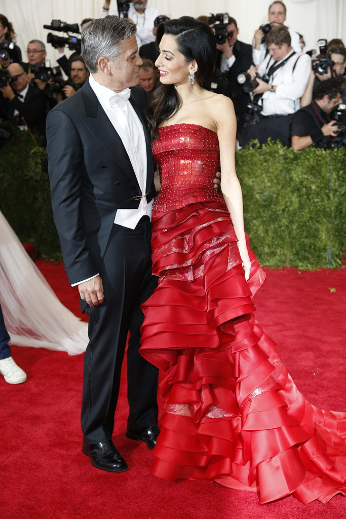MET Gala Amal Clooney in John Galliano for Maison Margiela