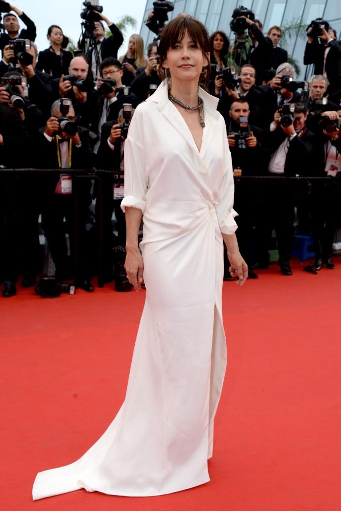 Sophie Marceau in Alexandre Vauthier, Cannes 2015