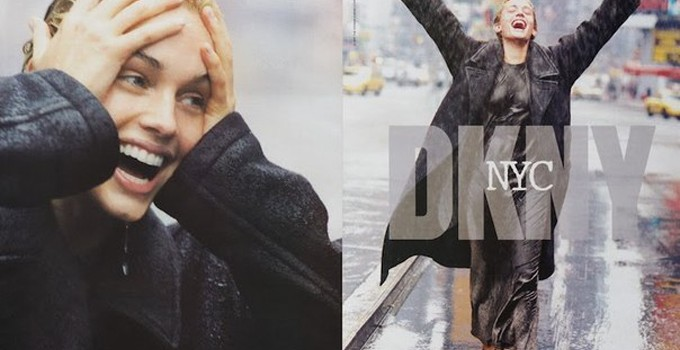 Fashion Archives: DKNY's Girl in the Rain (Fall 1994)