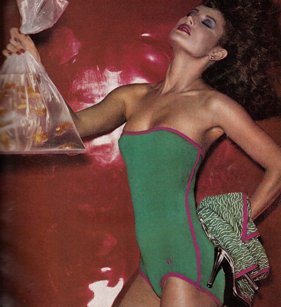 Christian Dior Advertisement by Chris von Wangenheim, 1978